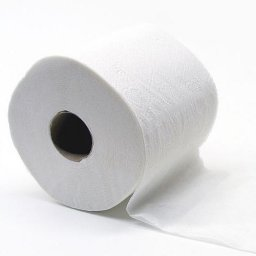 Toiletpapier cellul. wit 2-laags, gewafeld, 160 vellen