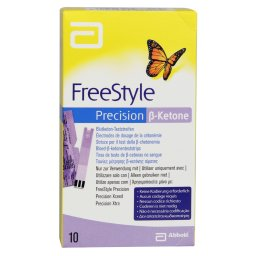 Ketone strips FreeStyle Precision
