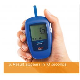 Lactate Scout + lactaatmeter bluetooth