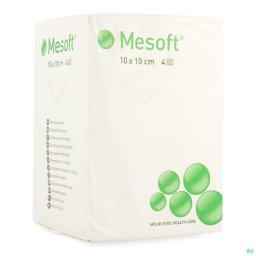 Mesoft Non woven compressen 4 laags