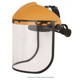 Gelaatscherm, face shield geel DIN EN166                 1st